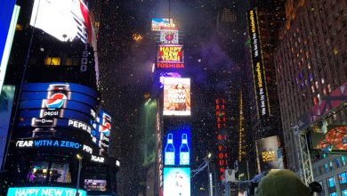 Photo of Christmas and New Year in New York